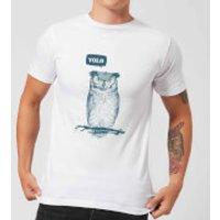 Balazs Solti YOLO Men's T-Shirt - White - S - White