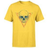 Balazs Solti Skull Men's T-Shirt - Yellow - XXL - Yellow