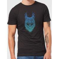 Balazs Solti Wolf Men's T-Shirt - Black - L - Black