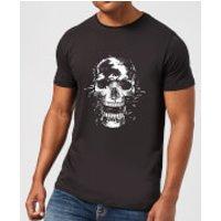 Skull Mens T-Shirt - Black - L - Black