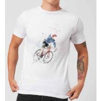 Cycler Mens T-Shirt - White - 3XL - White
