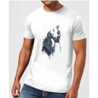 Singing Wolf Men's T-Shirt - White - 5XL - White - Singing Gifts