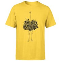 Balazs Solti Ostrich Men's T-Shirt - Yellow - M - Yellow