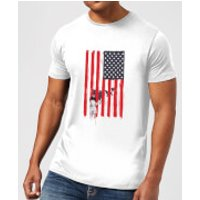 Balazs Solti USA Cage Mens T-Shirt - White - XL - White