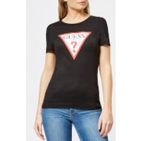 Guess Women's Short Sleeve Original T-Shirt - Jet Black - S - Black