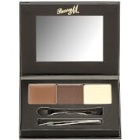 Barry M Cosmetics Brow Kit (Various Shades) - Medium/Dark