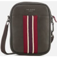 Ted Baker Mens Boxet Webbing Mini Flight Bag - Chocolate