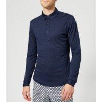 Orlebar Brown Men's Sebastian Merino Polo Shirt - Navy - S - Navy