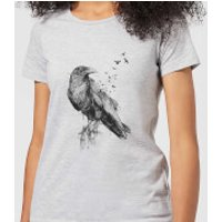 Balazs Solti Birds Flying Women's T-Shirt - Grey - XS - Grey
