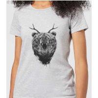 Balazs Solti Dear Bear Women's T-Shirt - Grey - XS - Grey