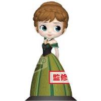 Banpresto Q Posket Disney Frozen Anna Coronation Style Figure 14cm (Normal Colour Version)