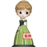 Banpresto Q Posket Disney Frozen Anna Coronation Style Figure 14cm (Pastel Colour Version)