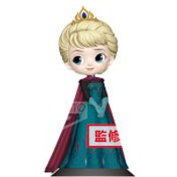 Banpresto Q Posket Disney Frozen Elsa Coronation Style Figure 14cm (Normal Colour Version)
