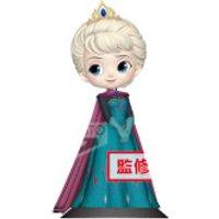 Banpresto Q Posket Disney Frozen Elsa Coronation Style Figure 14cm (Pastel Colour Version)