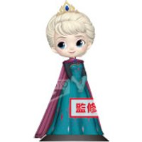 Banpresto Q Posket Disney Frozen Elsa Coronation Style Figure 14cm (Pastel Colour Version)