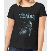 Venom Profile Women's T-Shirt - Black - L - Black
