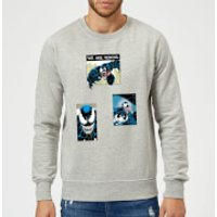 Venom Collage Sweatshirt - Grey - XXL - Grey