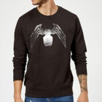 Image of Venom Chest Emblem Sweatshirt - Black - L - Black