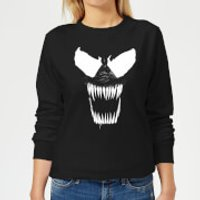 Venom Bare Teeth Women's Sweatshirt - Black - XL - Black