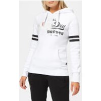 Superdry Women's Vintage Logo Fade Entry Hoodie - Optic - UK 14 - White