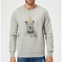 Balazs Solti Party Lion Sweatshirt - Grey - XXL - Grey