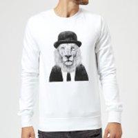 Balazs Solti Monocle Lion Sweatshirt - White - S - White