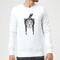 Balazs Solti Native Lion Sweatshirt - White - XXL - White
