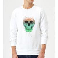 Balazs Solti Skull Sweatshirt - White - L - White