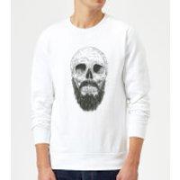 Balazs Solti Bearded Skull Sweatshirt - White - L - White