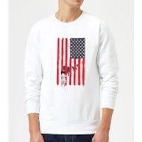 Balazs Solti USA Cage Sweatshirt - White - XXL - White