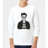 Balazs Solti Cool Skull Sweatshirt - White - XL - White