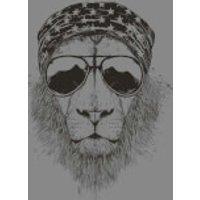 Balazs Solti Bandana Lion Sweatshirt - Grey - L - Grey