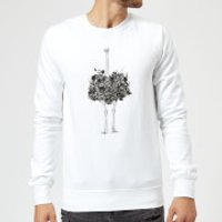 Balazs Solti Ostrich Sweatshirt - White - 3XL - White