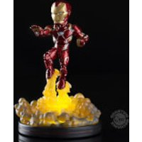 Marvel Captain America: Civil War Iron Man Light-Up Q-Fig FX Diorama