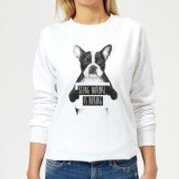 Being Normal Is Boring Women's Sweatshirt - White - XL - White