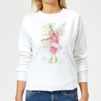 Dancing Queen Women's Sweatshirt - White - M - White - Dancing Gifts