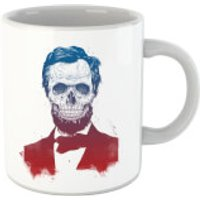 Balazs Solti Suited And Booted Skull Mug - Skull Gifts