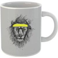 Balazs Solti Lion And Sweatband Mug - Lion Gifts