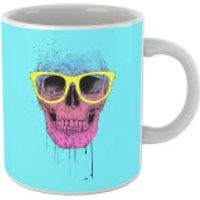 Balazs Solti Skull And Glasses Mug - Glasses Gifts