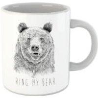 Balazs Solti Ring My Bear Mug - Ring Gifts