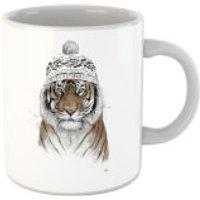 Balazs Solti Winter Tiger Mug - Tiger Gifts