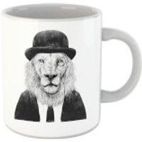 Balazs Solti Monocle Lion Mug - Lion Gifts