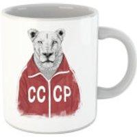 Balazs Solti CCCP Lion Mug - Lion Gifts
