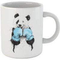 Balazs Solti Boxing Panda Mug - Boxing Gifts