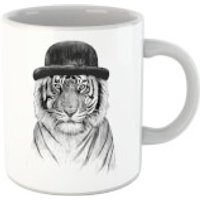 Balazs Solti Tiger In A Hat Mug - Iwoot Gifts