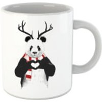 Balazs Solti Winter Panda Mug - Iwoot Gifts