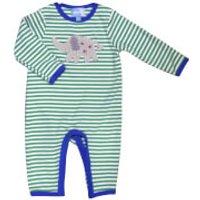 Albetta Crochet Egbert Elephant Babygrow - 0-3 Months
