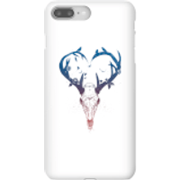 Image of Balazs Solti Antlers Phone Case for iPhone and Android - iPhone 8 Plus - Snap Case - Matte