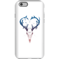 Balazs Solti Antlers Phone Case for iPhone and Android - iPhone 6 - Tough Case - Matte