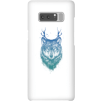 Image of Balazs Solti Wolf Phone Case for iPhone and Android - Samsung Note 8 - Snap Case - Matte